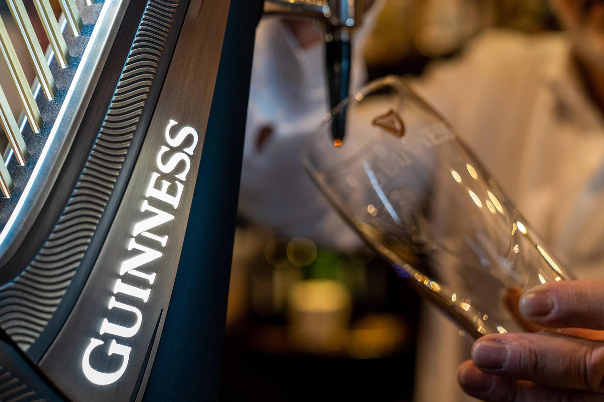 Guinness alla spina