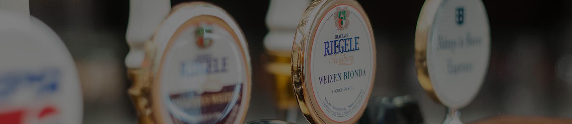 Birra alla spina Riegele e Bonne Esperance