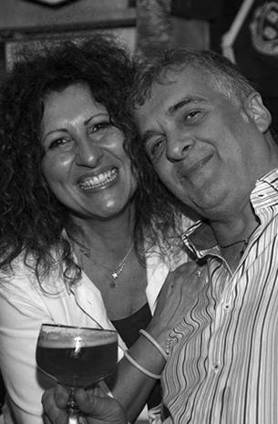 Antonio e Patrizia - Proprietari del Maracanà Pub