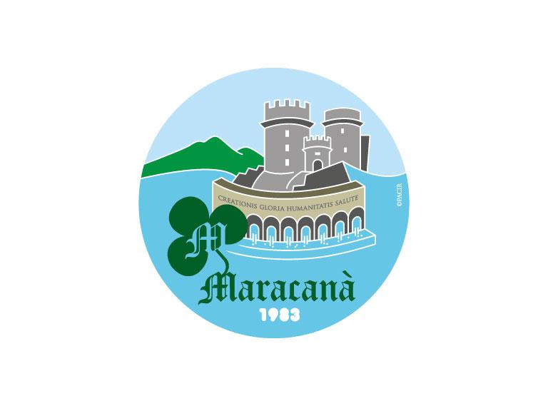 Logo Maracanà 35 anni